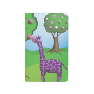 Giraffe Tastes a Tree Treat Journal