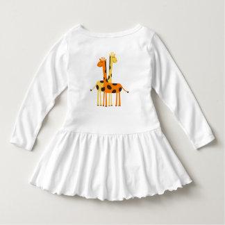 Giraffe Toddler Ruffle Dress