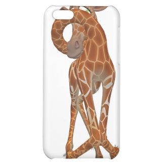 giraffe toon iPhone 5C case