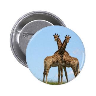 Giraffe Twins  Pin