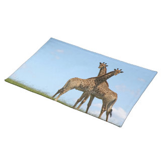 Giraffe Twins Placemat