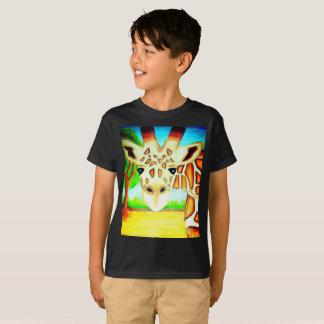 Giraffe Up Close T-Shirt