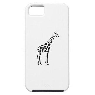 Giraffe Vintage Wood Engraving iPhone 5 Case