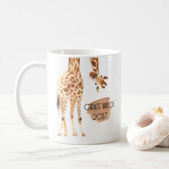 Giraffe Watch 2017 - Looking out Mug