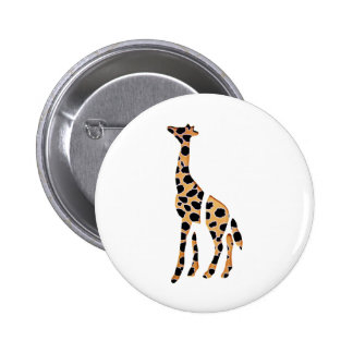 Giraffe Wild Mash Up 6 Cm Round Badge