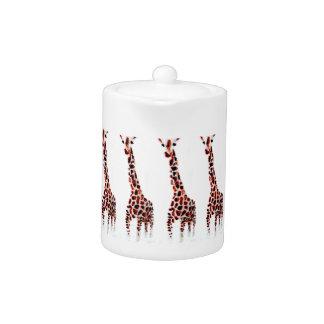 Giraffe Wildlife Art