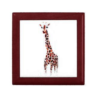 Giraffe Wildlife Art Gift Box