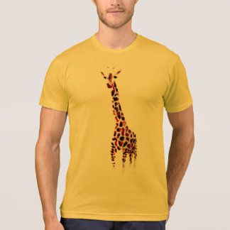 Giraffe Wildlife Art T-Shirt