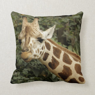 Giraffe Wildlife Cushion