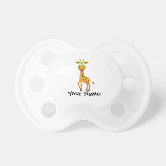 giraffe with glasses dummy