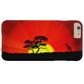 Giraffe, with Name Option Barely There iPhone 6 Plus Case