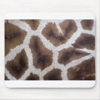 Giraffe wrapping paper skin mouse mat