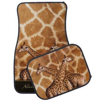 Giraffes 1A Options Floor Mats Floor Mat