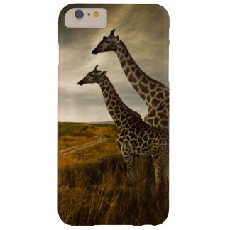 Giraffes and The Landscape Barely There iPhone 6 Plus Case