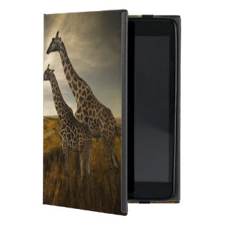 Giraffes and The Landscape Cover For iPad Mini