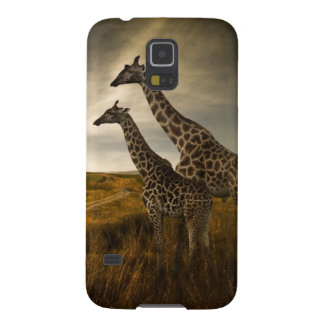 Giraffes and The Landscape Galaxy S5 Cover