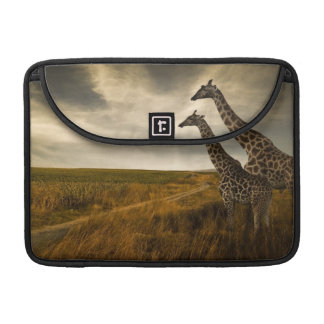 Giraffes and The Landscape Sleeve For MacBooks
