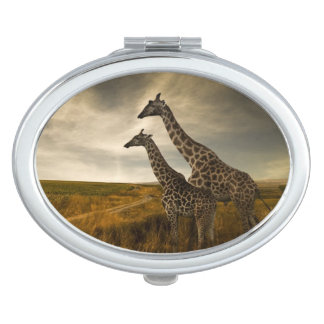 Giraffes and The Landscape Travel Mirror