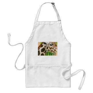 giraffes standard apron