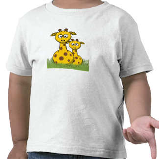 giraffes are my friend t-shirt