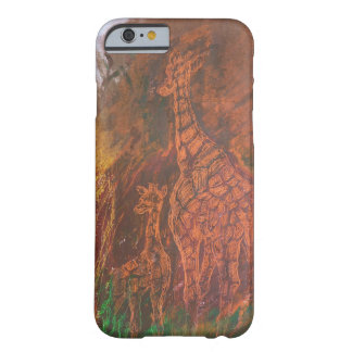 Giraffes. Barely There iPhone 6 Case