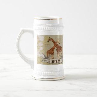 Giraffes Dad  Stein Mug