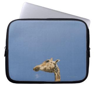 Giraffe's head laptop sleeve