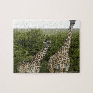 Giraffes in Kenya, Africa 2 Jigsaw Puzzle