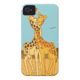 Giraffes In Love Blackberry Bold Case