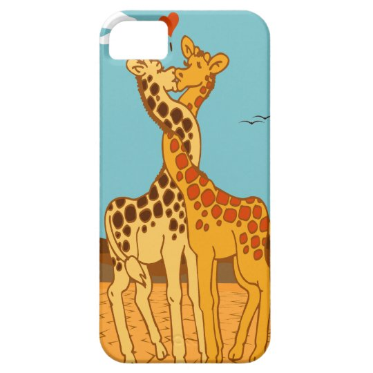 Giraffes In Love Case For The iPhone 5