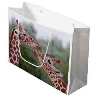 Giraffes in Love Gift Bag