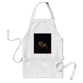 Giraffes_In The Moonlight. Standard Apron