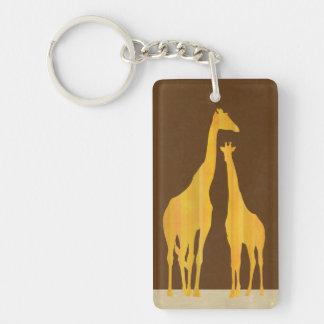Giraffes key holder key ring