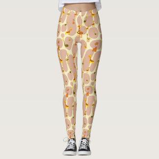 Giraffes Leggings