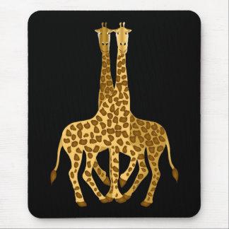 Giraffes Mouse Mat