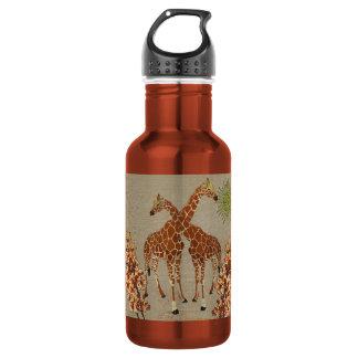 Giraffes Orange Blossom Liberty Bottle 532 Ml Water Bottle