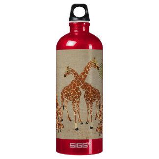 Giraffes Orange Blossom Liberty Bottle SIGG Traveller 1.0L Water Bottle