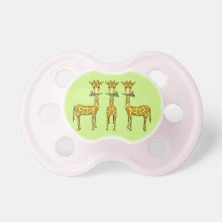 Giraffes Pacifier