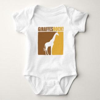 Giraffes Rock! #2 Baby Bodysuit