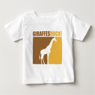 Giraffes Rock! #2 Baby T-Shirt