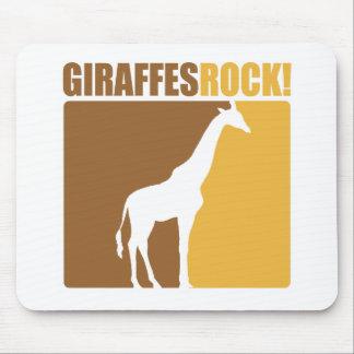 Giraffes Rock! #2 Mouse Pad