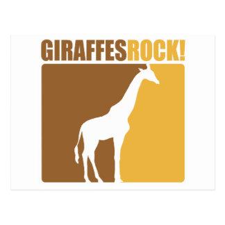 Giraffes Rock! #2 Postcard