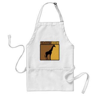 Giraffes Rock! Adult Apron