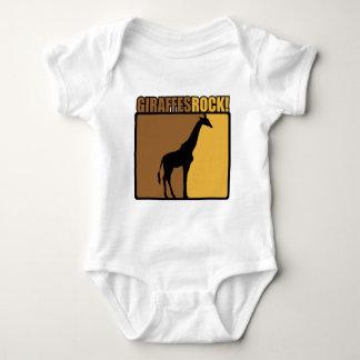 Giraffes Rock! Baby Bodysuit