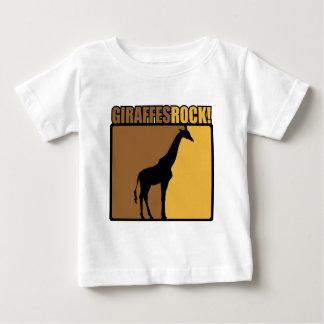 Giraffes Rock! Baby T-Shirt