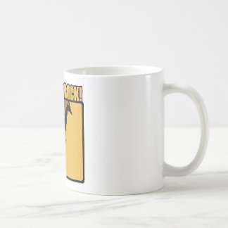 Giraffes Rock! Classic White Coffee Mug