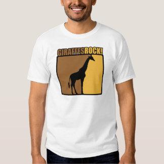 Giraffes Rock! Tee Shirt