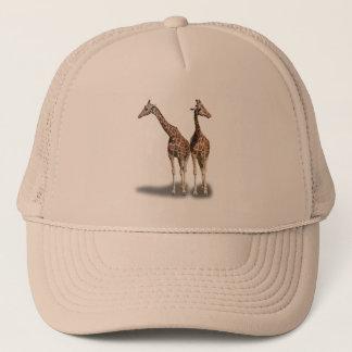 GIRAFFES TRUCKER HAT