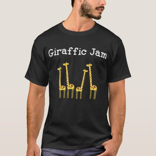 Giraffic Jam Safari T Shirt