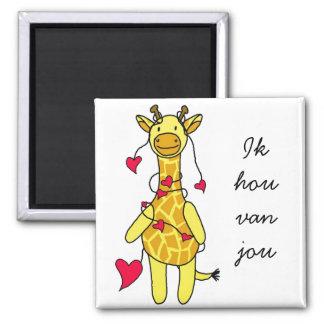 Girafje magnet